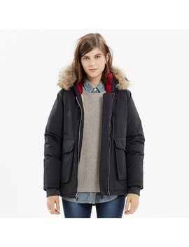 woolrich-white®-patrol-down-parka by madewell
