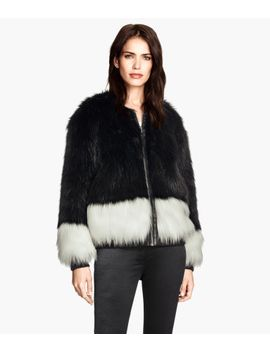 faux-fur-jacket by h&m