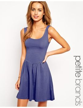 new-look-petite-ballerina-sleeveless-skater-dress by new-look-petite