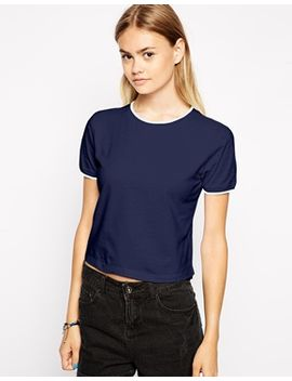 asos-tipped-neat-t-shirt by asos-collection