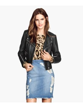 leather-biker-jacket by h&m