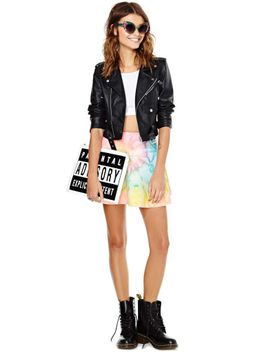 unif-i-dye-skirt by nasty-gal