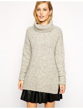 whistles-jumper-with-roll-neck-in-textured-marl by whistles