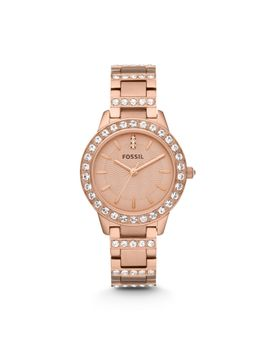 jesse-rose-tone-stainless-steel-watch by fossil