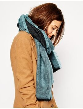 asos-plain-brushed-reversible-scarf by asos-collection