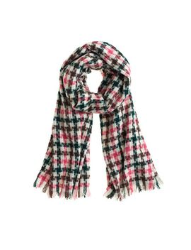 plaid-check-scarf by jcrew