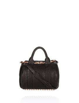 rockie-in-pebbled-black-with-rose-gold by alexander-wang