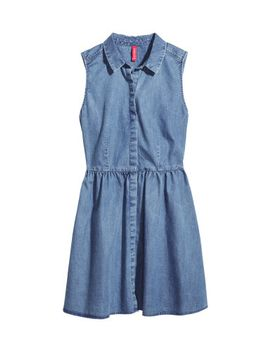 denim-dress by h&m