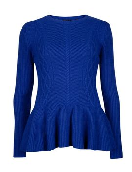 peplum-jumper by ted-baker