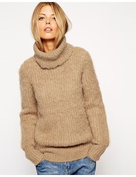 asos-jumper-in-brushed-alpaca-with-roll-neck by asos-collection