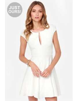 lulus-exclusive-top-contender-ivory-dress by lulus