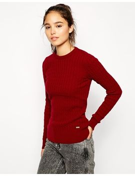 barbour-cable-knit-jumper by barbour
