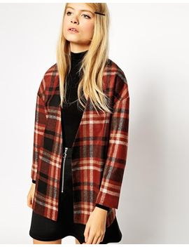 asos-premium-checked-jacket by asos-collection