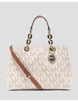 cynthia-medium-satchel by michael-michael-kors