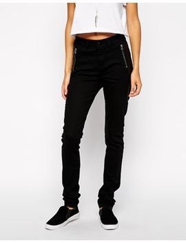 noisy-may-skinny-jeans-with-faux-leather-and-zip-details by noisy-may