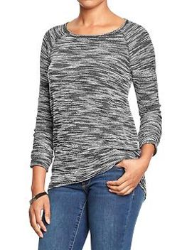 womens-marled-crew-neck-sweaters by old-navy