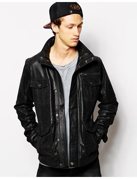 solid-leather-field-jacket by solid
