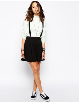 only-textured-skater-skirt by only