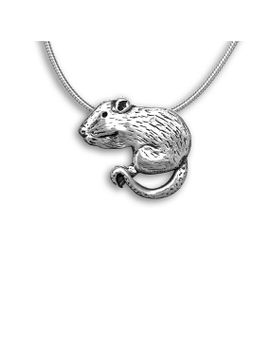 sterling-silver-rat-large-pendant by themagiczoo