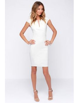 lulus-exclusive-top-notch-ivory-midi-dress by lulus