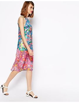 asos-printed-embellished-dress by asos-collection