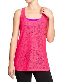 womens-old-navy-active-cut-out-mesh-tanks by old-navy