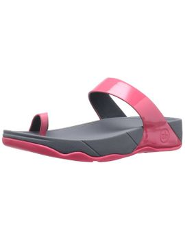 fitflop-womens-sho-thong-sandal,punch-pink,5-m-us by fitflop
