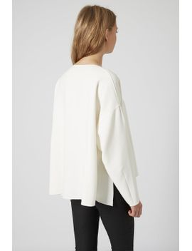 raw-edge-sweat by topshop