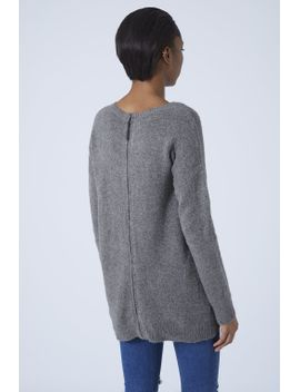 stretch-knitted-sweater by topshop