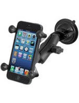 twist-lock-suction-cup-mount-with-universal-x-grip-cell-phone-holder by ram-mounts
