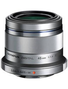 mzuiko-digital-45mm-f_18-lens-(silver) by olympus