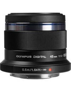 mzuiko-digital-45mm-f_18-lens-(black) by olympus