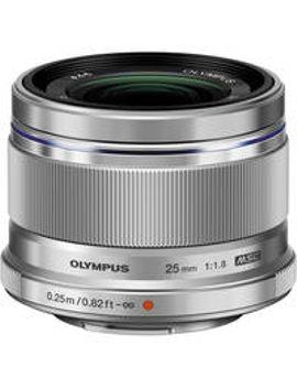 mzuiko-digital-25mm-f_18-lens-(silver) by olympus