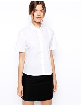 asos-short-sleeve-boxy-shirt by asos-collection