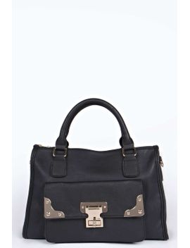 millie-pocket-front-day-bag by boohoo