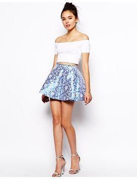 glamorous-full-skirt-in-jacquard by glamorous