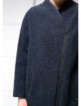 cocoon-wool-blend-coat by mango