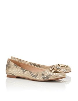 reva-spotted-ballet-flat by tory-burch