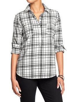 womens-flannel-popovers by old-navy
