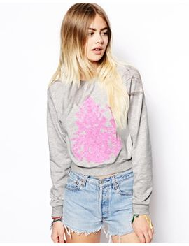 asos-sweatshirt-with-embroidered-indian-summer by asos-collection