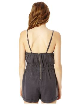 sleeveless-elastic-waist-playsuit by glassons