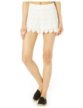 crochet-shorts by glassons