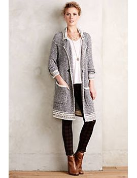 montecito-double-breasted-cardigan by anthropologie