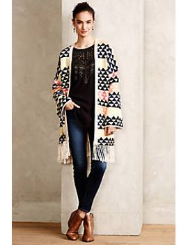 alifa-triangle-poncho by anthropologie