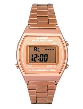 casio-rose-gold-b640wc-5aef-digital-bracelet-watch by casio