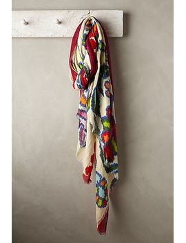 oblong-ikat-scarf by anthropologie