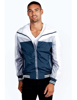 colour-block-lightweight-jacket by boohoo