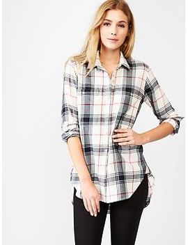 plaid-tunic by gap