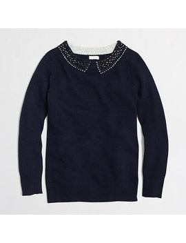 factory-embellished-sweater by jcrew