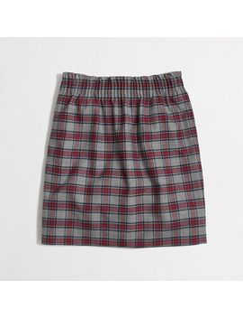 wool-sidewalk-skirt-in-plaid by jcrew